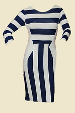 Viscose Party Mini Striped Dresses for Women