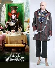 Alice in Wonderland Johnny Depp Mad Hatter Costume Set *Tailored*