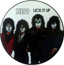 KISS 'Lick It Up' rare promo picture-disc vinyl LP, MAKE UP SLEEVE