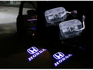 2pcs LED Logo Door Courtesy Light Ghost Shadow Laser Projector For Honda