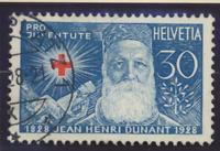 Switzerland Stamps Scott #B45 To B48, Used