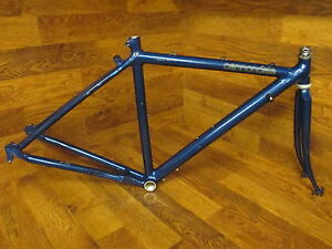RARE VINTAGE FIRST GENERATION CANNONDALE ST 500 TOURING ROAD BIKE FRAME SET 51CM
