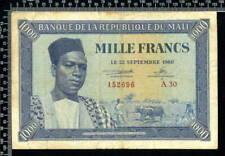 Billets de l'Afrique de Mali