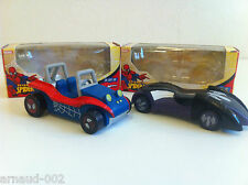 Marvel / Mondo Motors - Lot (1) de 2 voitures Spider-Man
