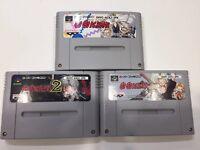 Go Go Ackman 1 2 3 Nintendo SFC Super Famicom SNES NTSC-J JAPAN Tested works