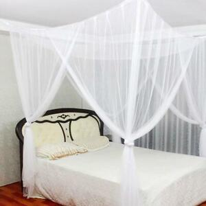 Large Mosquito Net Bed King Size Home Bedding Set Elegant Netting 83 x75 x95inch