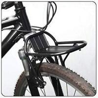 Aluminum Alloy Bike Cargo Front Rack MTB Road Bicycle Luggage Shelf Bracket