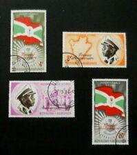 Burundi-1963-1st Anniv of Independence set-Used