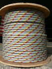 "NovaTech XLE Halyard Sheet Line, Dacron Sail Rope 1/2"" x 105' Silver/Yellow/Red"