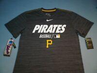 Nike Pittsburgh Pirates Legend Velocity MEDIUM BRAND NEW shirt MLB Pitt dri fit