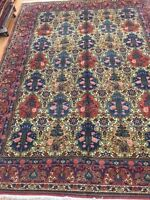 """8'7"""" x 11'7"""" New Indian Oriental Rug - Very Fine - Hand Made - 100% Wool"""