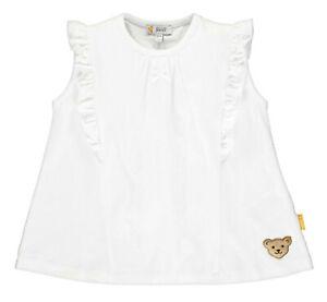 STEIFF® Mädchen Tunika T-Shirt Top Bär Weiß 80-122 F/S 2020 NEU!