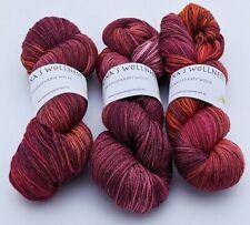 Handgefärbte Wolle - Indian Summer - Unikat - Regina's Wollnest