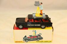 Dinky Toys 281 Fiat 2300 Pathe News Camera Car perfect mint in box all original