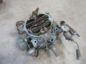 1977 Oldsmobile Cutlass Supreme 350 engine Quadrajet 4 barrel carburetor core