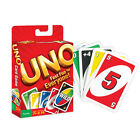 UNO PLAYING CARD GAME BY MATTEL ORIGINAL FAMILY TOY KIDS NOVELTY POKER HOBBY
