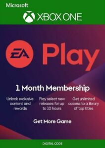EA PLAY (EA ACCESS) - 1 MONTH SUBSCRIPTION XBOX ONE (TRIAL)