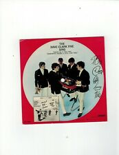 Dave Clark Five ''Auravision'' cardboard picture record'' Catch us if you can''