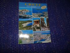 Crete History-Archeology-Tours Crete Today Book From 1991