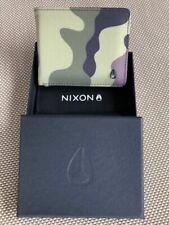 Nixon VIP Bi-Fold Wallet Woodland Camo Wallet Brand New In Box
