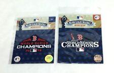 2013 2018 World Series Champions Jersey Patch Lot Boston Red Sox FREESHP