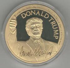 Make America Great Again - President DONALD TRUMP COMMEMORATIVE PROOF COIN + COA