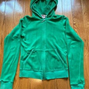 Juicy Couture Green Tracksuit Jacket Small