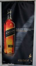 JOHNNIE WALKER Algunas Se Compran Big Satin Advertising Banner Scotch Sign