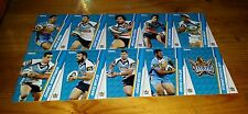 2015 NRL TRADERS GOLD COAST TITANS COMMON TEAM SET 10 CARDS