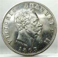 Regno d'Italia (Vittorio EM.II) 20 C.-1863 Milano