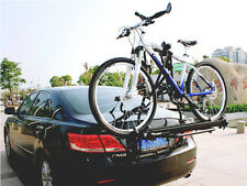 G Universal 2 Bike Bicycle Cycle Rack Rear Trunk Mount Hitch Carrier For Car SUV