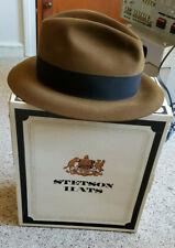 Royal Stetson Fedora W/Original Box Indian Jones Vibes Vintage Vintage Sx 7