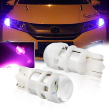 3535-SMD Pink Purple T10 LED Bulbs Car Parking Position Lights 168 194 2825 W5W