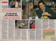 Coupure de presse Clipping 1993 Le Souvenir de Patrick Roy  (2 pages)