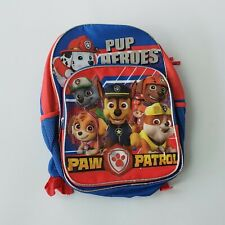 """16"""" Nickelodeon Paw Patrol Rescue Pup Heroes Backpack Blue School Book Bag NEW"""