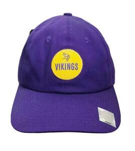vintage minnesota vikings strapback hat nike team sports adult OSFA NWT 90s moss