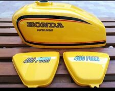 COMPLETE KIT DECALS HONDA CB400 FOUR HONDA CB400F PARAKEET YELLOW