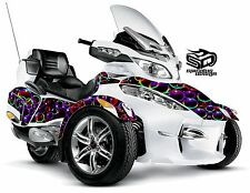 "Can Am Spyder RT RT-S RT Limited graphic wrap decal kit ""Bubble Wrap"""