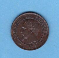 (BR.86) 10 CENTIMES NAPOLÉON III 1853 B ROUEN (TTB+)