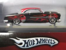 Hot Wheels Kalifornia Kustoms '52 CHEVY Tube BLACK WITH RED FLAMES