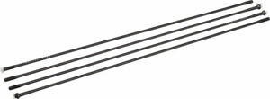 """Industry Nine Trail and Ultralite 235 29"""" 24 Hole Spoke Kit: 295 and 299mm Black"""