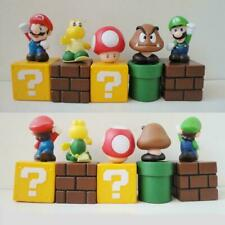 Super Mario Brothers Luigi Cake Toppers Decoration Party Bag Filler 5 pieces toy