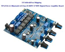 TPA3116 2.1 Bluetooth 4.0 Class D 100W+2*50W Digital Power Amplifier Board