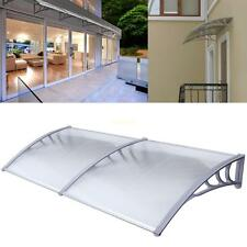 """40""""x 80"""" Outdoor Window Awning Sun UV Shield Canopy House Cover Polycarbonate"""