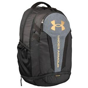 Brand New! Under Armour Hustle 5.0 Backpack Black 004