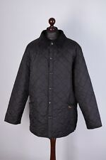 Barbour Liddesdale Vintage Quilted Jacket Size XL
