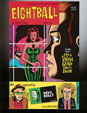 Eightball # 1 - 2ND PRINT  - Fantagraphics, Oct. 1989 - VF/NM