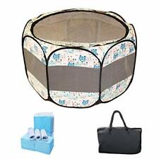 New listing Dog Playpen Cover for Indoor & Outdoor - Water Proof & Uv Resistant Pet Crate.