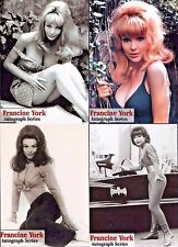 OFFICIAL WEBSITE Francine York (1938-2017) Trading Card FULL Series AUTOGRAPHED