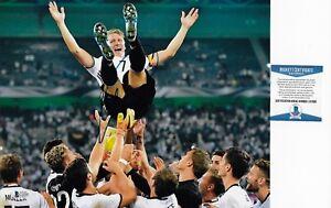 Bastian Schweinsteiger Germany World Cup Signed Auto 11x14 Photo Beckett BAS COA